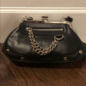 Black leather Wilson Leather handbag